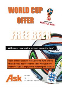 Free beer with new accounts